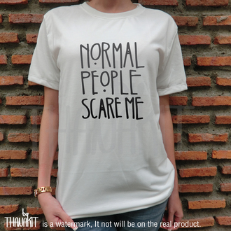 graphic tee quote on it white t-shirt