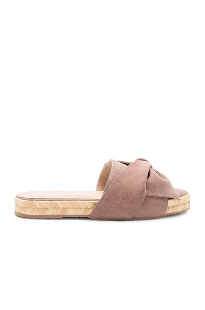 KAANAS bow taupe shoes