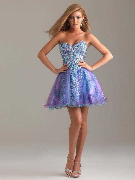 leopard print dress tulle dress prom dress