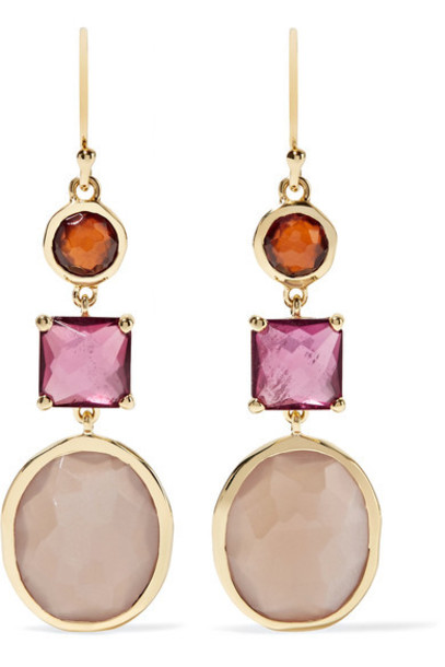 Ippolita rock candy earrings gold jewels