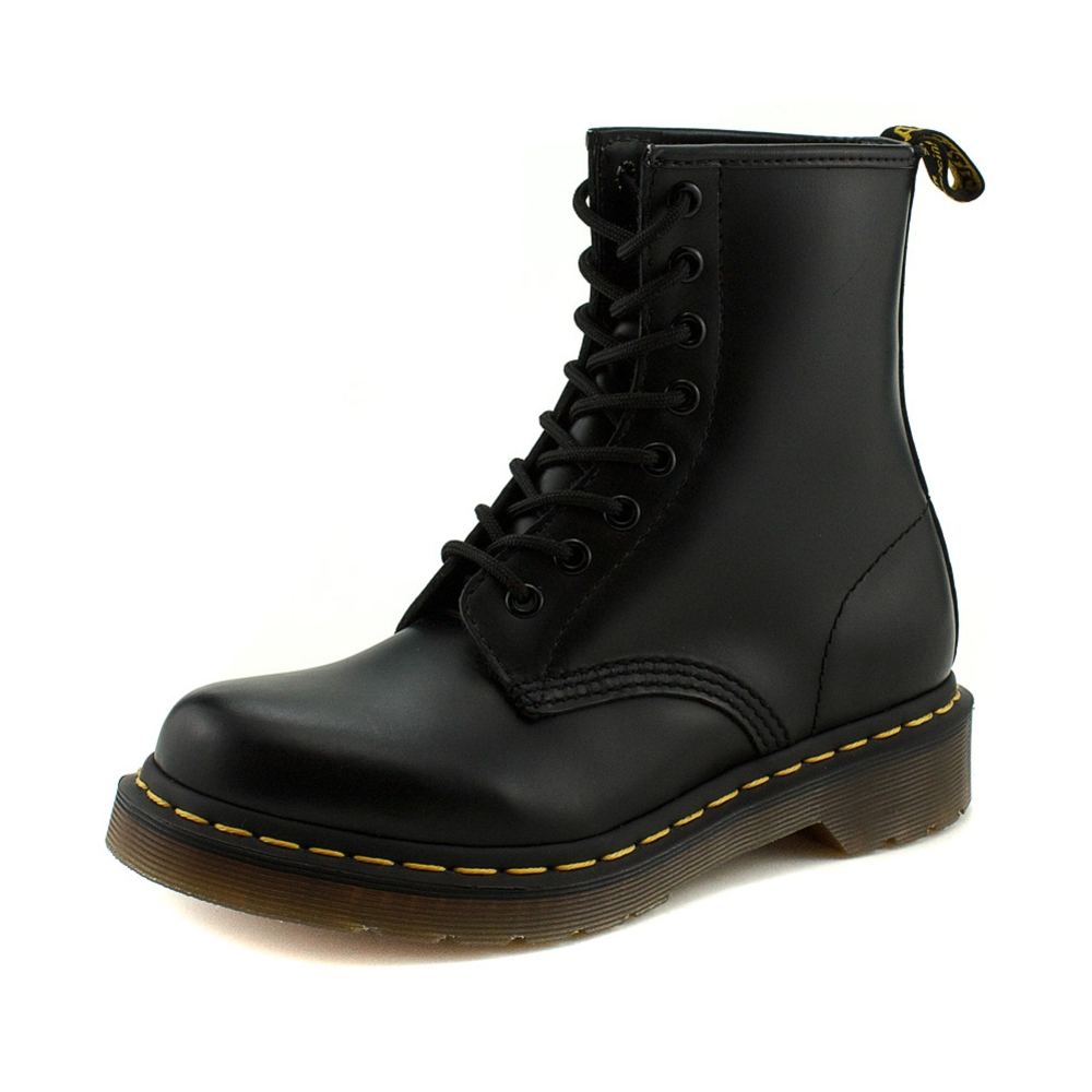 womens dr martens 1460 8 eye boot black journeys shoes