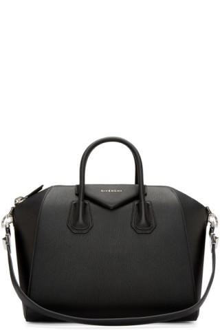 Givenchy - Sac noir Medium Antigona