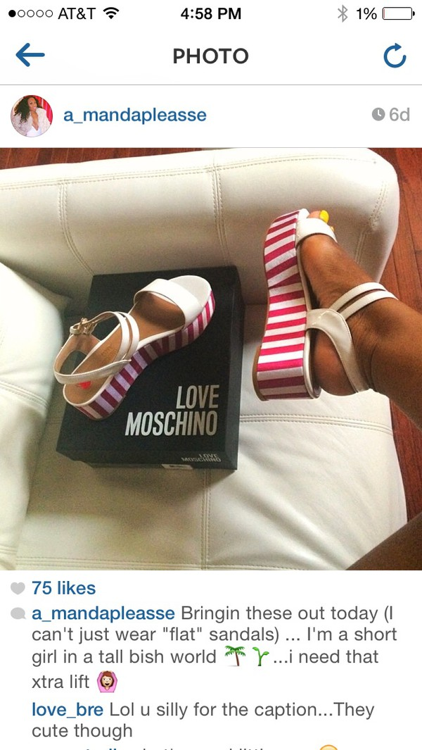 shoes moschino