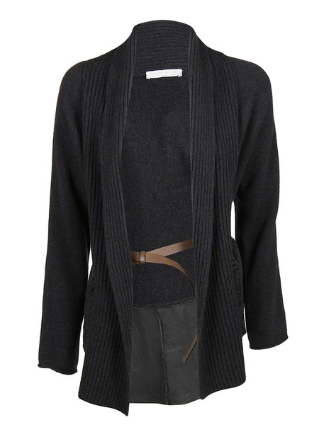 Fabiana Filippi cardigan cardigan navy black sweater