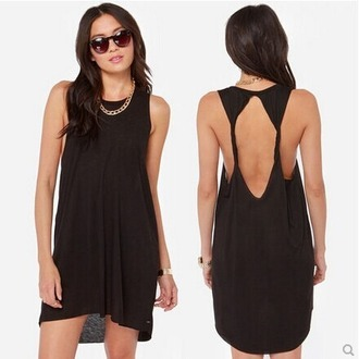 dress black dress sexy dress