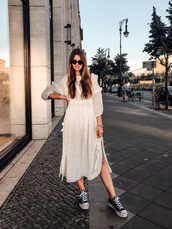 shoes,converse,all star,dress,white dress
