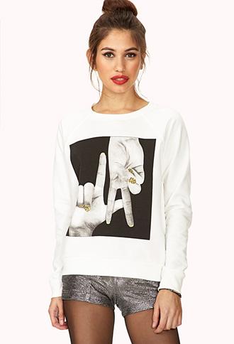 LA Pride Sweatshirt | FOREVER 21 - 2000072474