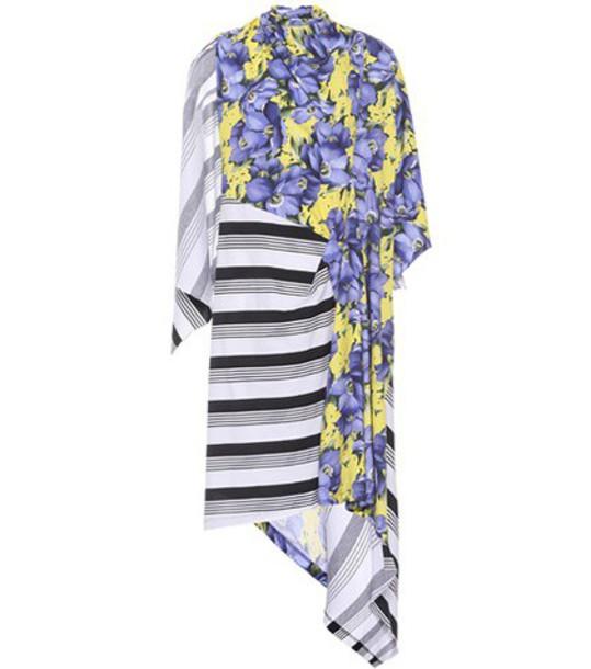 Balenciaga Printed cotton dress