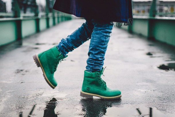 shoes green emerald 6 timberland