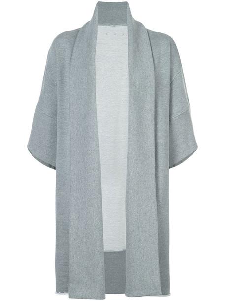 OSKLEN cardigan oversized cardigan cardigan oversized women pet cotton grey sweater