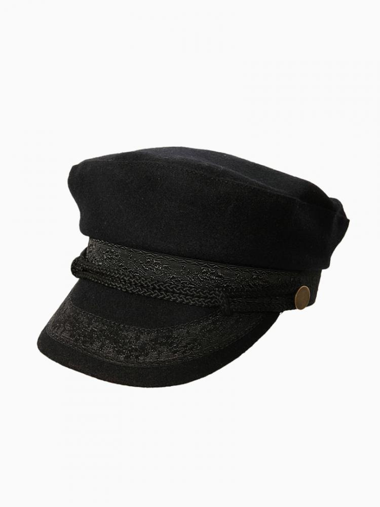 Black And Navy Cap | Choies