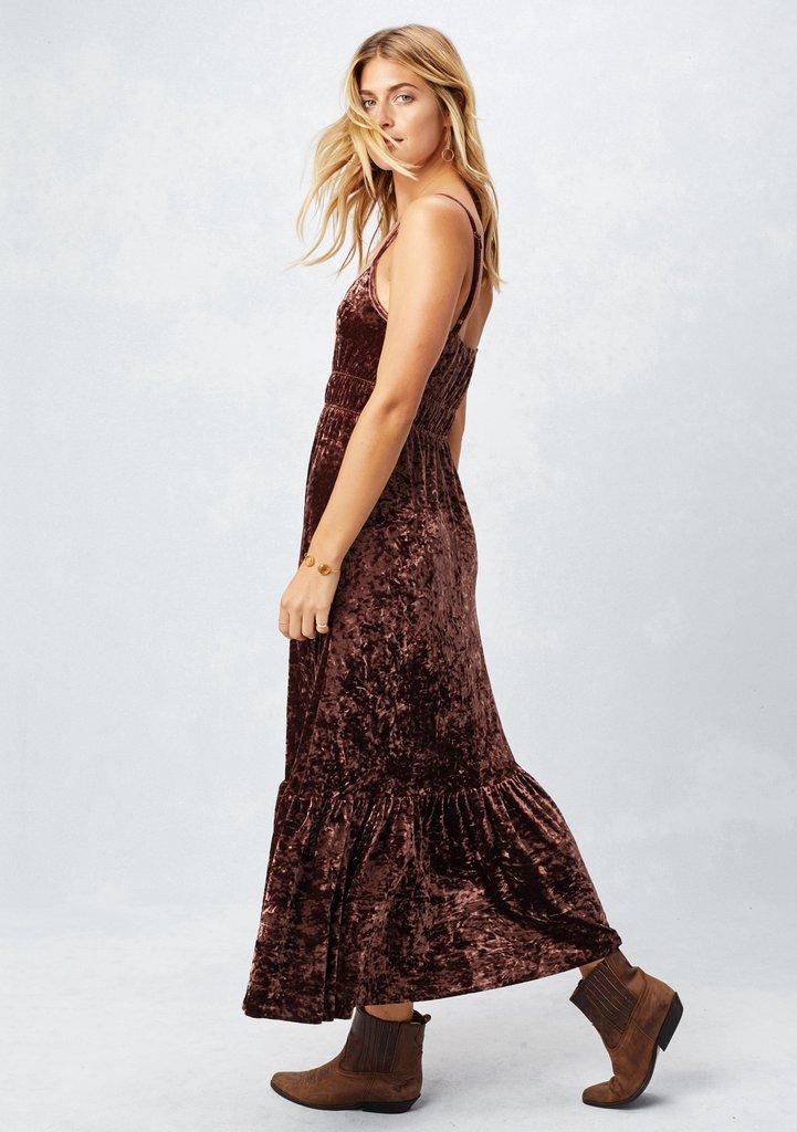 Petra Velvet Dress - LOVESTITCH