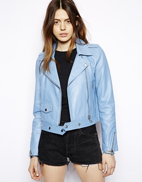 HIDE | HIDE Christa Biker Jacket at ASOS