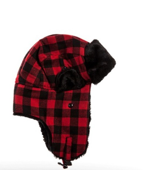 plaid hat flannel hat print grunge alternative rock hat obsessed