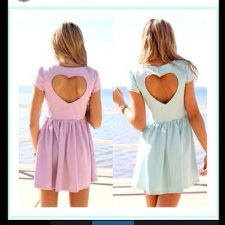 dress pink blue pink dress blue dress heart