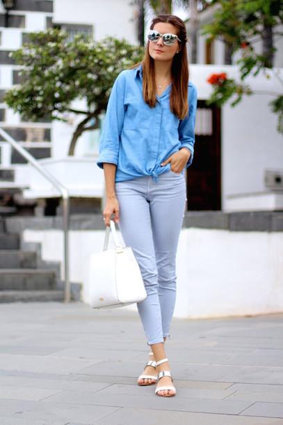 marilyn's closet blog blogger blouse pants shoes bag sunglasses