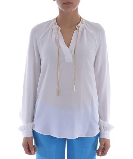 Michael Kors blouse silk top