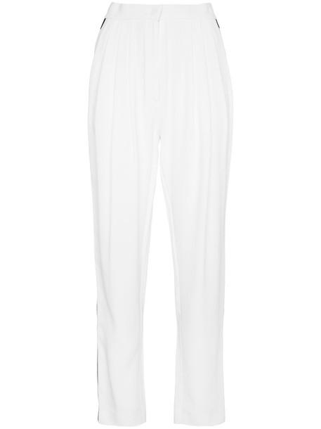 Philosophy di Lorenzo Serafini women white black pants