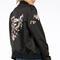 Birds of love stitched bomber jacket