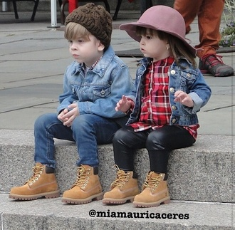 jacket toddler boy/girl boys girls fashion kids fashion fashion kids denim jacket leather pants timberlands plaid shirt love