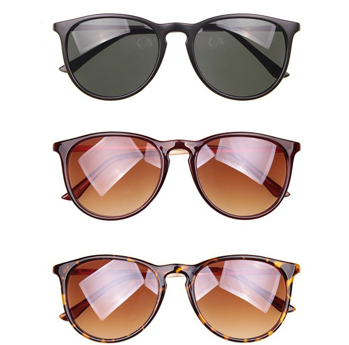Brazil Fashion 2014 New Cat Eye Women Sunglasses Vintage Black Round Shades For Women Cool Mens Sunglasses Accessories  4 Colors-inSunglasses from Apparel & Accessories on Aliexpress.com