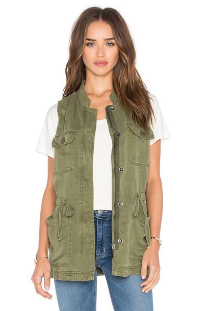 Sanctuary vest green
