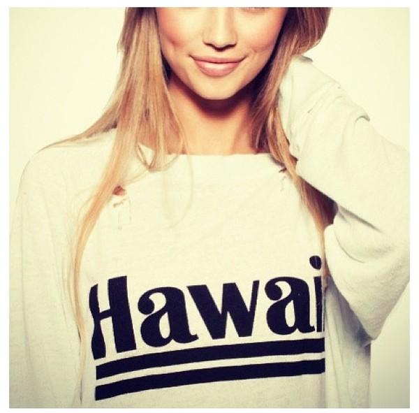 sweater hawaiian