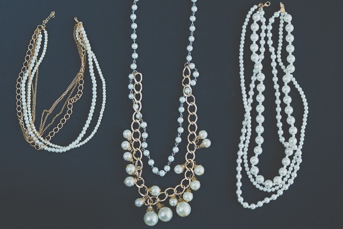 My Blonde Gal: DIY: Pearl chain necklace