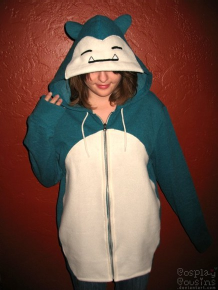 jacket pokemon snorlax zip up jacket hoodie