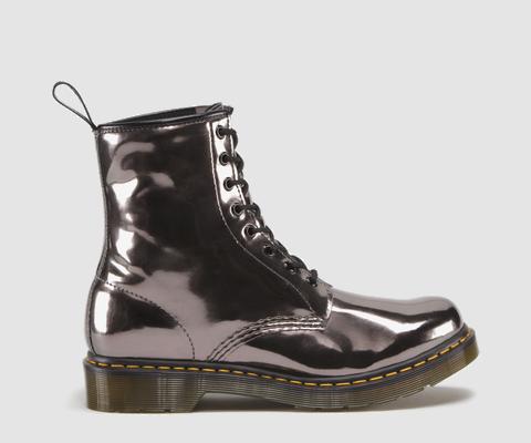 Dr Martens 1460 PEWTER KORAM FLASH - Doc Martens Boots and Shoes