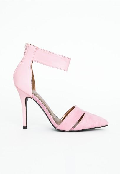Jowita Ankle Strap Detail Heels - Footwear - Heels - Missguided