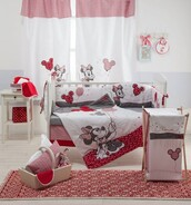 home accessory,baby bedding set,red minnie mouse,red minnie mouse bedding,baby girl bedding,baby bedding,crib bedding,baby girl,mickey mouse,bedding,baby room,baby boy,duvet,home decor,bedroom,tumblr bedroom,babybeddingdesign.com