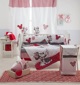 home accessory baby bedding set red minnie mouse red minnie mouse bedding baby girl bedding baby bedding crib bedding baby girl mickey mouse bedding baby room baby boy duvet home decor bedroom tumblr bedroom babybeddingdesign.com