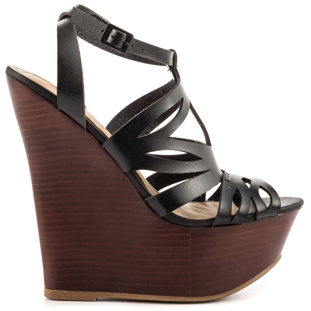 Bianka - Black, JustFabulous, 54.99, FREE 2nd Day Shipping!