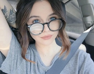 sunglasses acacia brinley glasses round glasses retro grunge