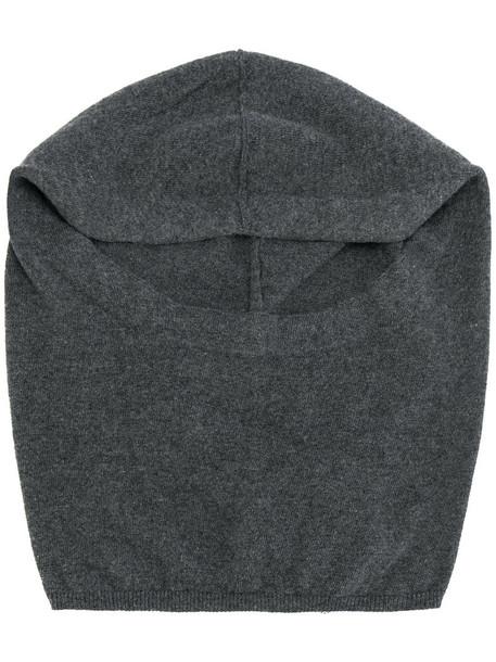 Kristensen Du Nord women beanie wool grey hat