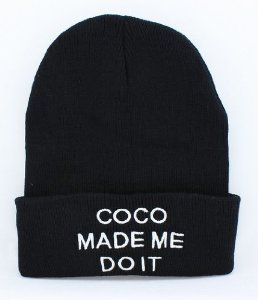 Amazon.com: Comme DES Fuckdown Beanie Co Co Made Me Do It: Sports & Outdoors