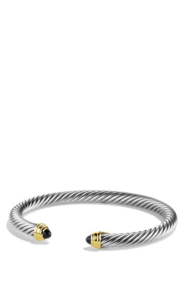 David Yurman 'Cable Classics' Bracelet with Semiprecious Stones & Gold | Nordstrom