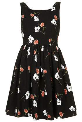 **Floral Print Sundress by Kate Moss for Topshop - Topshop