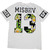 White Short Sleeve Misbhv 13 Print T-Shirt - Sheinside.com