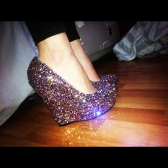 shoes silver shoes jeffrey campbell lita jeffrey campbell glitter shoes prom shoes wedges high heels platform shoes glitter black heels