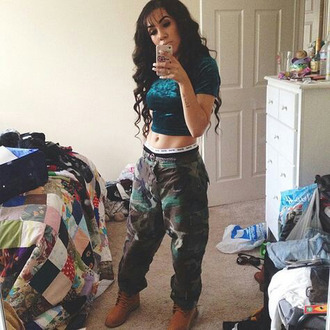 camo pants camo print baggy pants baggy camo print pants