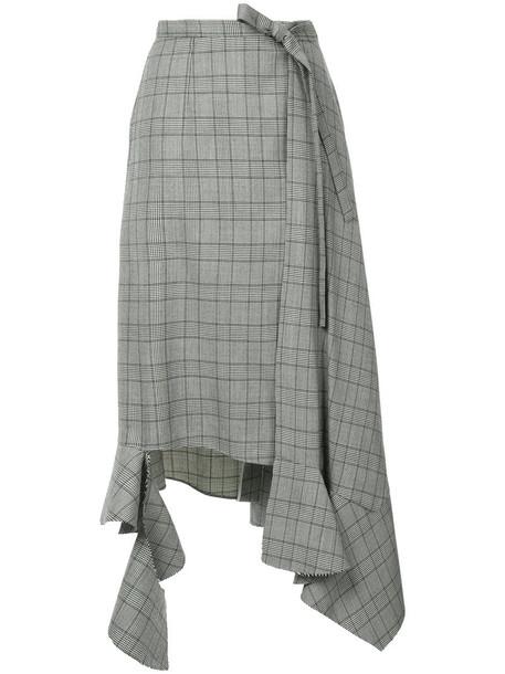 Irene skirt women wool grey