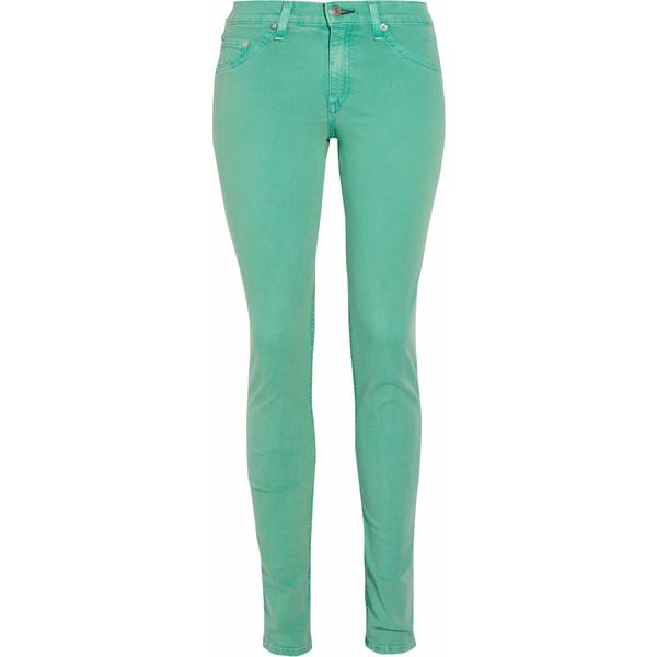 Rag & bone JEANMid-rise skinny jeans - rag & bone/JEAN - Polyvore