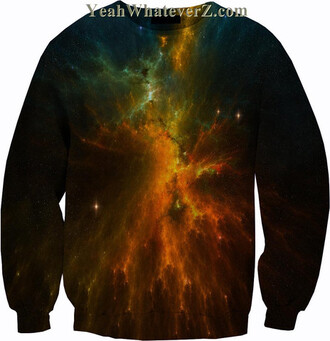 galaxy print space t-shirt sweater galaxy sweater space sweater space skirt all over printed shirt all over print all over printed sweatshirts all over printed clothing