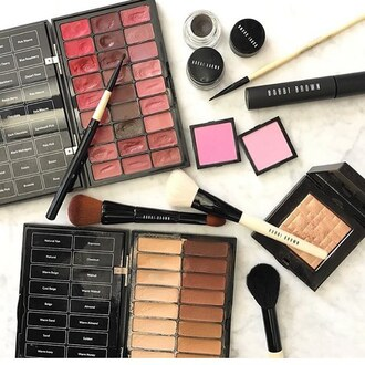 make-up bobbi brown makeup palette concealer lipstick