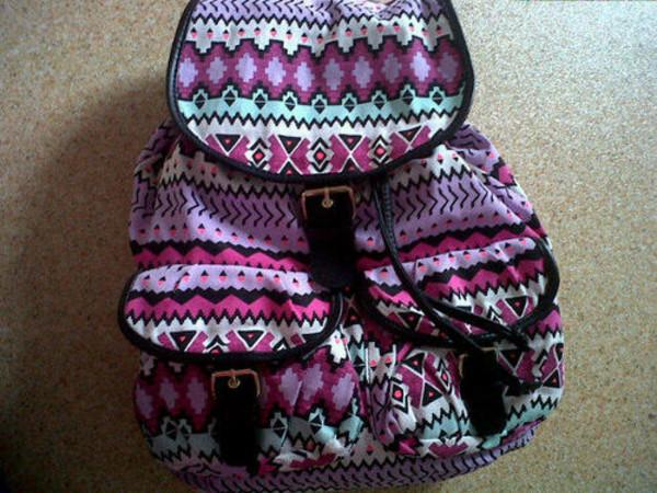 bag aztec backpack