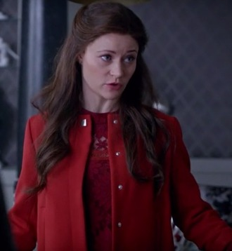 dress belle emilie de ravin once upon a time show red jacket