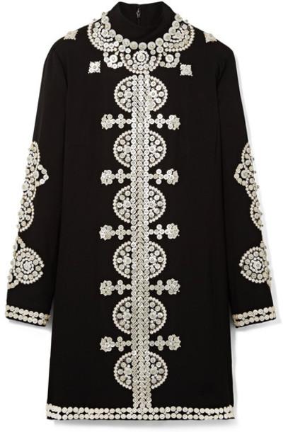 Tory Burch dress mini dress mini embellished black