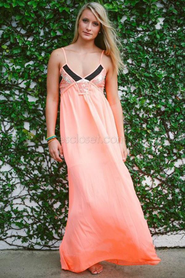 peach dress maxi dress peach maxi dress so cute coral maxi dress